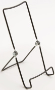Set of 12, Black Vinyl Coated Steel Wire Easel, For Tabletop Use, 9.5cm x 19cm , Wire Stands for Books, Plates or DVDs