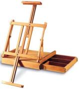 Ravenna Box Easel Bamboo by Art Alternatives