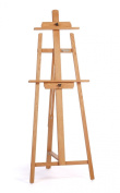 American Easel Oak Colossal A Frame Easel-Golden Finish