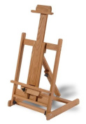 High Quality Oak Artists Easel Holds Canvases Or Display Items Up To 110cm Tall