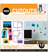 Hip In a Hurry 3D Decor Cut Outs 29cm - My Tunes #2