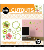 Hip In a Hurry 3D Decor Cut Outs 29cm -Ladybug & Dragonfly #2