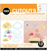 Hip In a Hurry 3D Decor Cut Outs 33cm -Dress Up