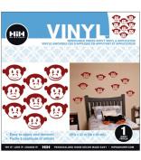 Hip In A Hurry Vinyl 60cm -Monkey