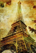Paris Eiffel Tower Canvas Wall Art, 5 Stars Gift Startonight 80cm X 120cm