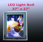 A1 Size LED Slim Crystal Frame Light Box 90cm x 70cm Advestising Poster Display Backlit Signage Photo Display