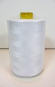 A-Brand White Thread,quality,spun Polyester,big Spool,12,000 Yards