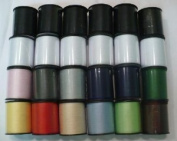 Polyester Sewing Thread Set - 24 Spools