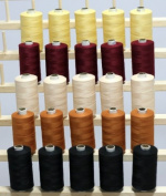 New ThreadNanny 25 Large Spools of 3-PLY Polyester Sewing Quilting Serger threads SP3 From THREADSRUS