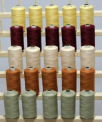 New ThreadNanny 25 Large Spools of 3-PLY Polyester Sewing Quilting Serger threads SP2 by THREADSRUS