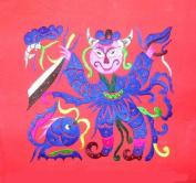 Miao Hmong Hand Stitch Embroidery Textile Folk Art #259