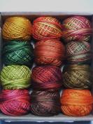 Valdani 3 Strand Cotton Floss Embroidery Punchneedle Thread Fabulous Autumn Set