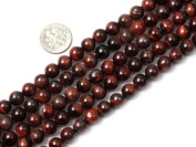 Varies Size Round Red Tiger Eye Beads Strand 38cm Jewellery Making Beads