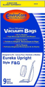 Package of Nine Replacement Eureka F + G Bags