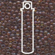 Picasso Saffron Trans 20 Grammes Miyuki Round Rocailles 6/0 Glass Seed Bead Approx 20 Gramme Tube