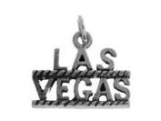 Sterling Silver Las Vegas Charm