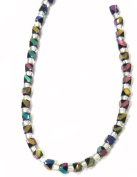 Bead Collection 40146 Glass Black Beads, 28cm