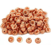 Star Bali End Bead Caps Copper Plated 9.5mm Approx 100