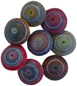 Janice Mae Olive/Rice Shaped Paper Beads