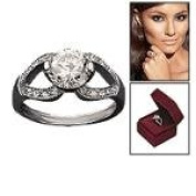 Avon Francesca Two Carat CZ Signature Ring