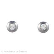 Annaleece Saturn Earrings. Elements DeVries Hypoallergenic Nickel-Free 4020-ANNA