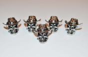 The Cowboy From Hell Paracord Bead - 5 Pack