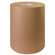 Aviditi KP1240 100 Percent Recycled Fibre Paper Roll, 900' Length x 30cm Width, Kraft