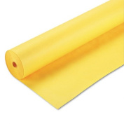 Pacon 67084 - Spectra ArtKraft Duo-Finish Paper, 48 lbs., 48 x 200 ft, Canary Yellow