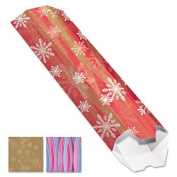 Expand-on-Demand Mailing Tube, Pre-Printed Assorted, 2 to 4 3/4 x 24, 3 per Pack