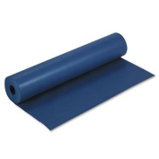 ~:~ PACON CORPORATION ~:~ Rainbow Coloured Kraft Paper, Smooth Duo-Finish, 90cm x 1000' Roll, Dk Blue