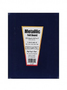 Hygloss Metallic Foil Board assorted 22cm . x 28cm . [PACK OF 3 ]