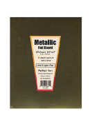 Hygloss Metallic Foil Board gold and silver 22cm . x 28cm . [PACK OF 3 ]