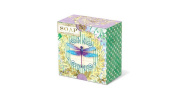 Punch Studio Everyday Pleat-Wrapped Boxed Soaps - Dragonfly Stripes 50041