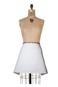 Birdkage Jane Studded A-Line Apron with Antique Brass Metal Hardware