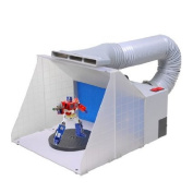 Professional Airbrush Hobby Paint Spray Booth filter Fan w/ Hose