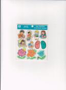 Religious Sunday School Easter Jelly Bean Spring Thanks Prayer 41 Stickers