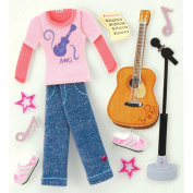 American Girl Crafts Music Style Stickers