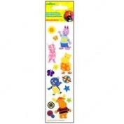 Nickelodeon The Backyardigans Dimensional Slim Stickers