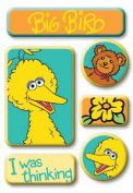 EK Success / Sesame Street Epoxy Stickers BIG BIRD For Scrapbooking, Card Making & Craft Projects