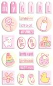 Sandylion Gem Stickers - Beginnings Collection - Baby Girl