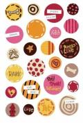Daisy Epoxy Stickers
