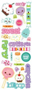 Momenta Puffy Icon Sticker, Sweet Shoppe