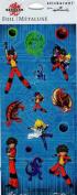 Bakugan Foil Scrapbook Stickers