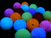 Bright Disco Ball Beads - assorted lot of 10