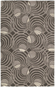 Kaleen Rugs Astronomy Collection 3404-68 Graphite Hand Tufted 2.1m x 2.7m Rug