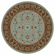 Concord Chester Flora Ivory 2.1m10 Round Rug