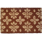 Entryways Fall Pattern Extra Thick Hand Woven Coir Doormat, 46cm by 80cm