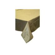 Hotel Metallic Tablecloth - Liner 130cm X 180cm Oblong / Rectangle - Silver