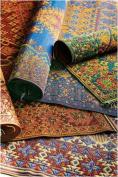 Mad Mats Oriental Turkish Indoor/Outdoor Floor Mat, 1.5m by 2.4m, Rust