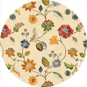 Jaipur Living Garden Party Hand-Tufted Floral & Leaves White Area Rug